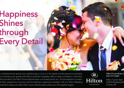 HMC Hilton Tucson East - Advertising