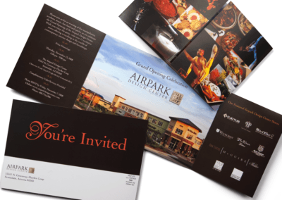 Airpark Design Center - Grand Opening Invitation