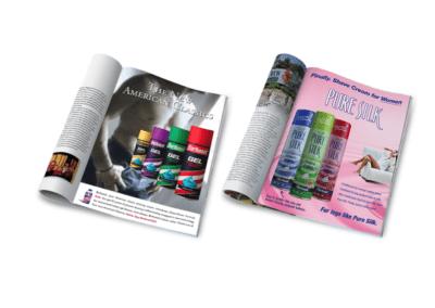 Barbasol & Pure Silk - Advertising
