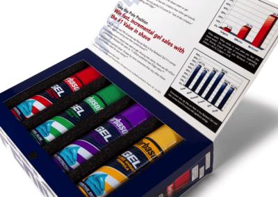 Barbasol - Gel Sales In-Store Packaging