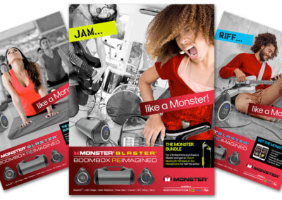 Monster Audio - Like a Monster Campaign